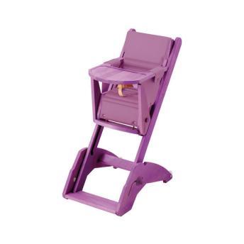 combelle chaise haute twenty one lavande r 233 f 3103942170002